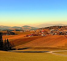 Picturesque panorama of countryside life | landscape photography by Patrick Jobst