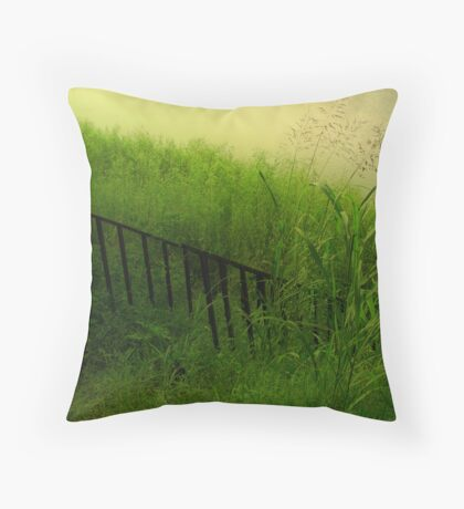 Stairway To The River Throw Pillow