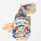 BLUE FISH by Pat Saunders-White