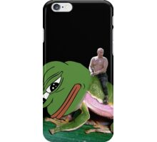 Putin Riding Pepe Frog iPhone Case/Skin