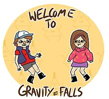 Welcome to GRAVITY FALLS by mooncatmooncat