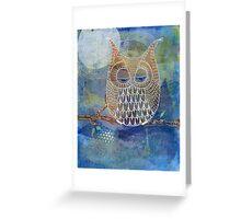 Pigwidgeon the owl Greeting Card