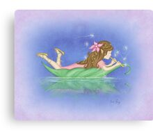 Fira the Firefly Elf Canvas Print