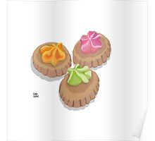 Iced Gem Biscuits Poster