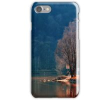 Gone fishing | waterscape photography iPhone Case/Skin