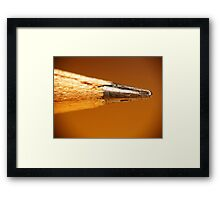 Point Being Framed Print