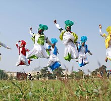 Bhangra Team by KANWALJIT SINGH DHUDI KE