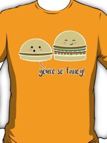 A Fancy Burger T-Shirt
