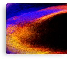 diving to swim to win... Canvas Print