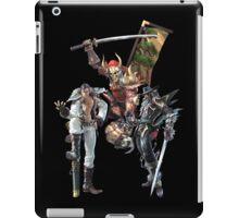 3 Character Tee 1 - Maxi, Raphael and Yoshimitsu iPad Case/Skin