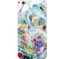 WATERCOLOR PIT BULL iPhone Case/Skin