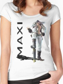 Maxi 3 Women's Fitted Scoop T-Shirt