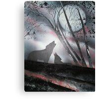 Wolf Mates Canvas Print