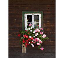 Farmhouse Window Photographic Print