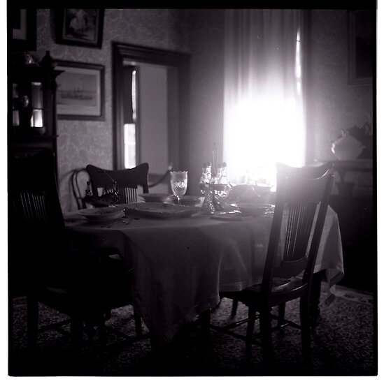 abolitionist's dining room by Marina Starik
