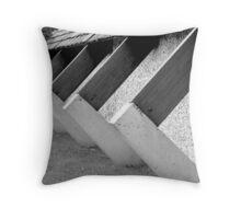 W.C. Buttresses Throw Pillow