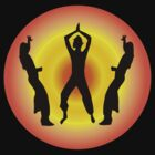 Latin Dance fitness t-shirt by 4Flexiway