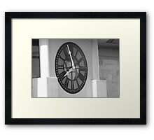 Just Before Eight Framed Print