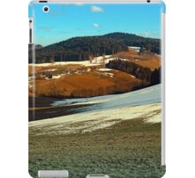 Scenic view below the Bohemian Forest   landscape photography iPad Case/Skin
