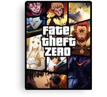 Fate Theft Zero Canvas Print