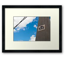 Invaded by Pixel Bugs! Framed Print