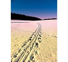 Cross country skiing | winter wonderland | landscape photography Photographic Print