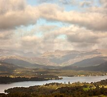 Distant View From Orrest Head by SteveMG