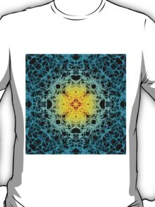 """Spirit of India: Fleur"": sun and water T-Shirt"