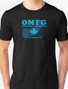 OMFG: Ontario Mega Finance Group T-Shirt