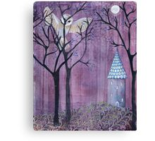 The Owl in the Forest Canvas Print