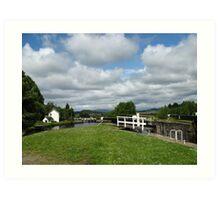 Crinan Canal, Scotland ~ Straight from the Camera Art Print
