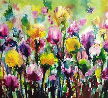 Dancing amongst the Tulips by belindabert