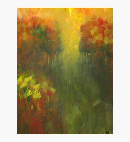 Dreams of Meadows: Abstract Landsacpe Photographic Print