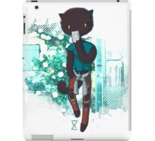 Cool Kitty with mobile iPad Case/Skin