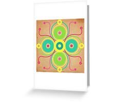 Colourcircles Greeting Card
