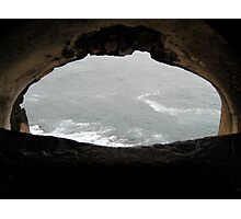 The Cave to the Sea Photographic Print