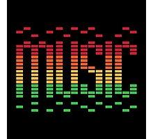 Music Equalizer Photographic Print