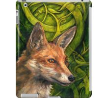 Bold Undaunted Fox iPad Case/Skin