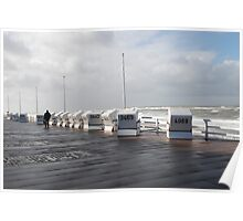 Sylt in autumn Poster