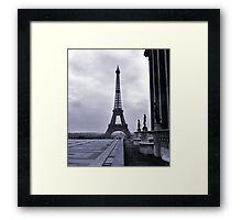 Eifel Tower, Winter 1945 Framed Print