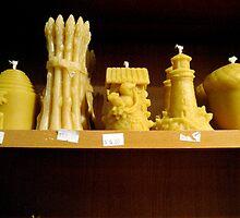 Beeswax Candles by SplatterPics