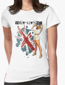 The Kitsch Bitsch : Brit-Kitsch Pin-Up Womens Fitted T-Shirt