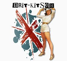 The Kitsch Bitsch : Brit-Kitsch Pin-Up Womens Fitted T-Shirt
