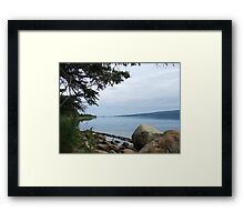 Cape Breton - Bras D'or Lake Framed Print
