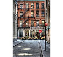 WALL ST. OASIS Photographic Print