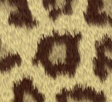 Heart Jaguar Print Long Sleeve Shirt Sticker