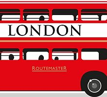 London Bus by wiscan