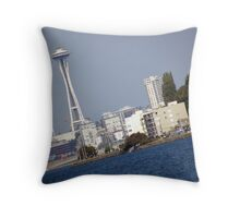 View From Alki Throw Pillow