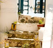 Oil Cans Steps by phil decocco