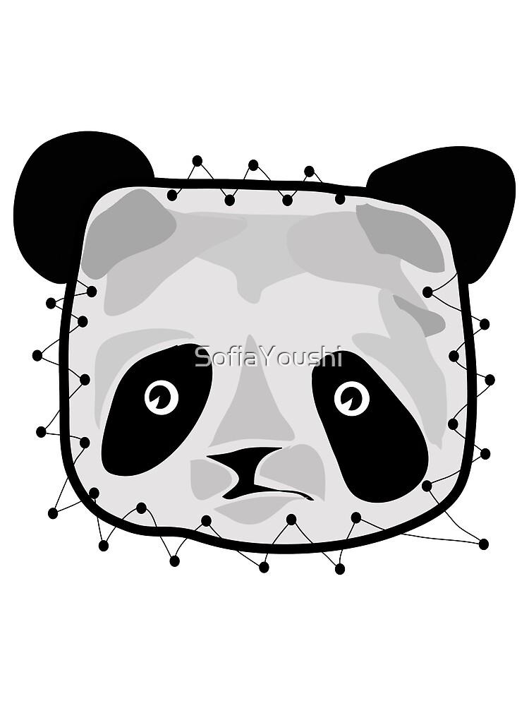 PANDA BEAR PATCH by SofiaYoushi